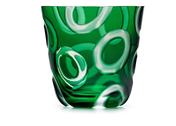 Rotter-Glas N° 112 Alius green medium tumbler