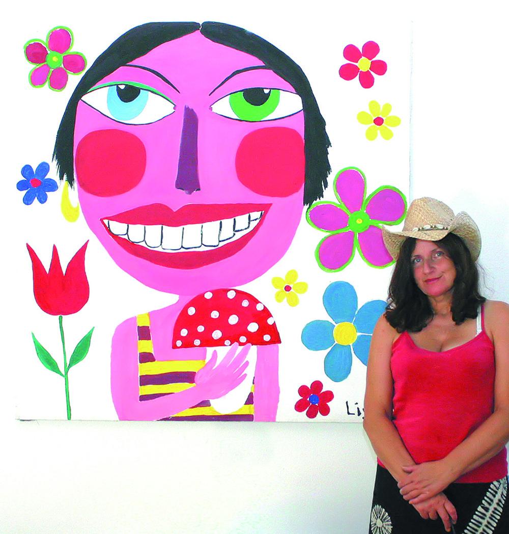 Farbenfreude,  Konsumkritik und Body-Painting …