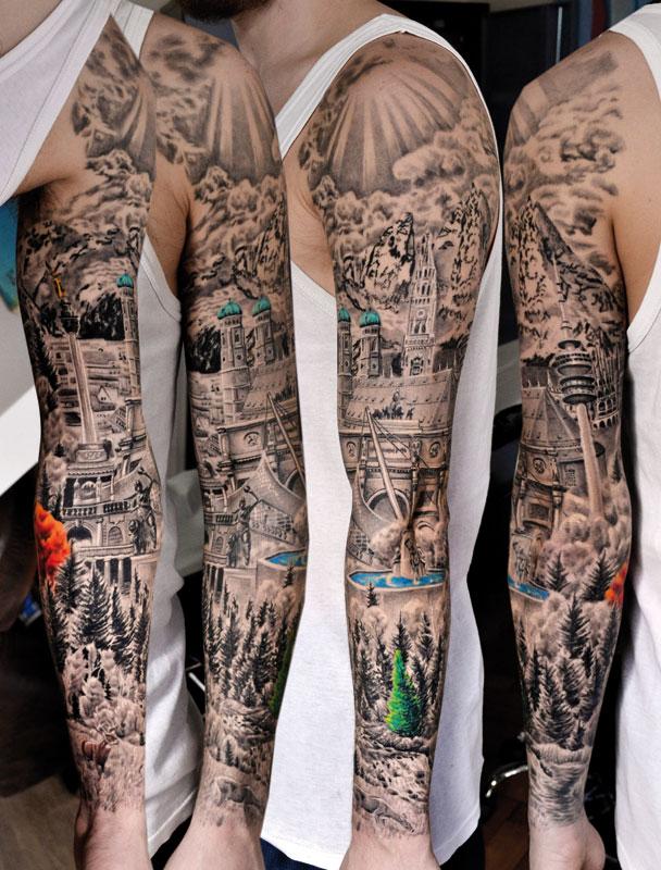 Ganzarm Tattoo Frau Motive Hylenmaddawardscom