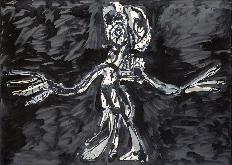 BRAUN-FALCO-Galerie zeigt Antonio Saura
