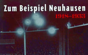 Buchbesprechung: Zum Beispiel Neuhausen. 1918-1933